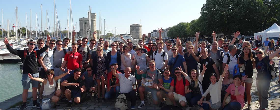 Pursuit Gaming sur le vieux port de La Rochelle